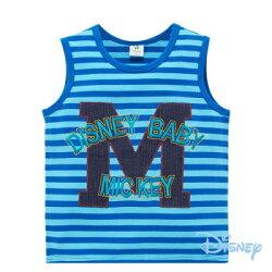 Disney 米奇大M貼布男孩背心