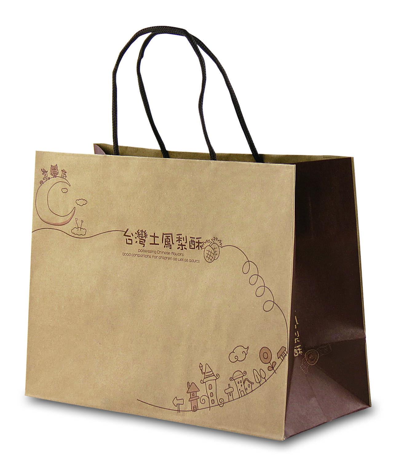 【零售量】台灣土鳳梨酥手提袋/50個