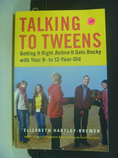 【書寶二手書T4/溝通_MEL】Talking To Tweens_Hartley-Brewer