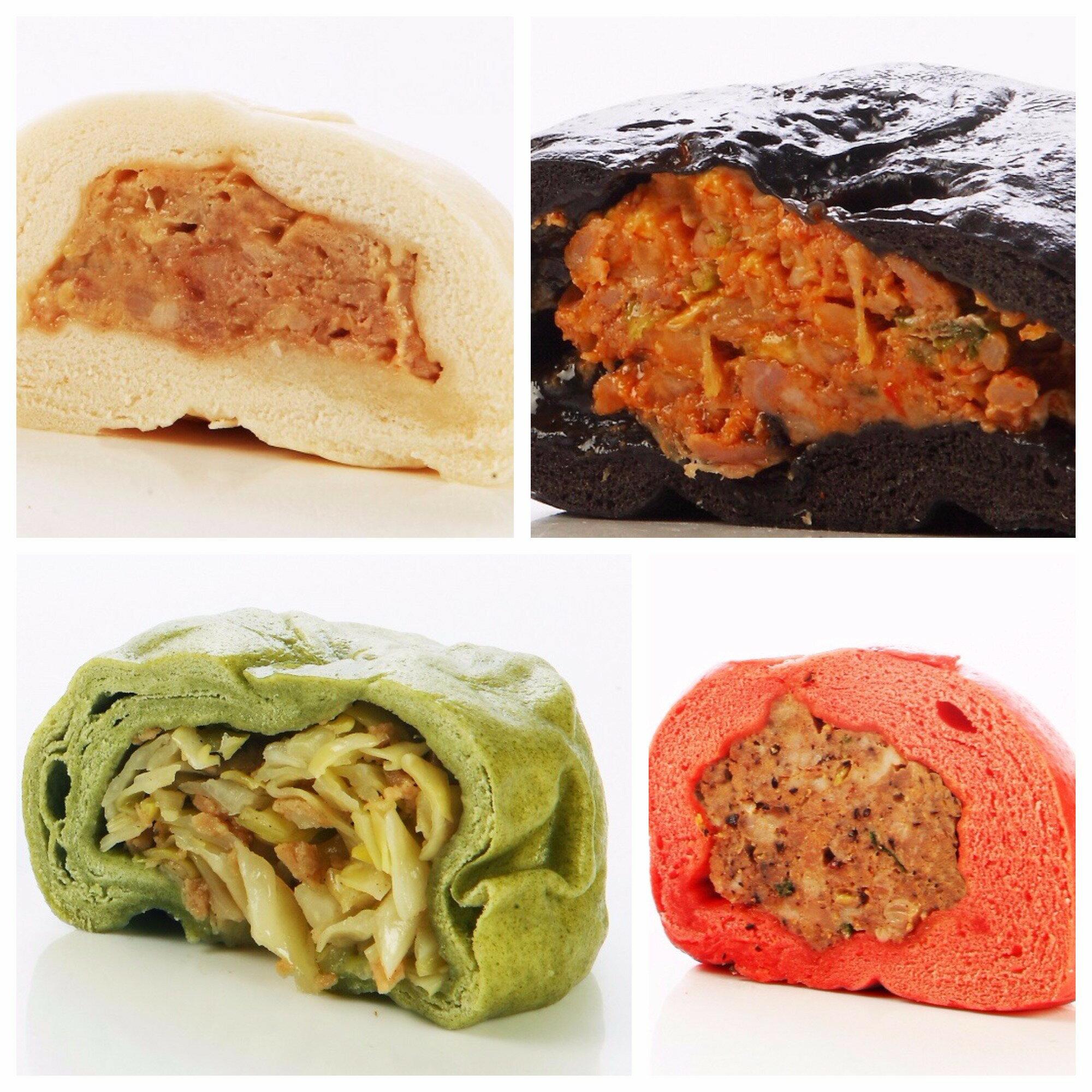 ~ 包子~綜合口味(一包4入)四種口味的 包子各1顆,嘗鮮慾望一次滿足/達包食品