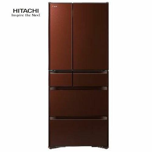 HITACHI日立RG620HJXT621L琉璃棕變頻電冰箱六門日本製