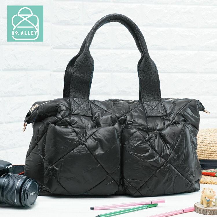 空氣包 側背包 防潑水大容量兩用手提媽媽包 女包 89.Alley-HB89255 0