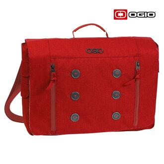【OGIO】鈕扣郵差包-紅 (114005-02)