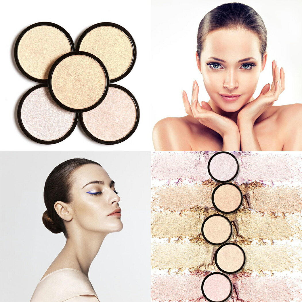 Single Brightening Face Squeezed Highlighter Powder Makeup 1