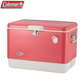 [Coleman]51L經典鋼甲冰箱草莓紅公司貨CM-04166