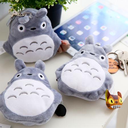 新款 龍貓造型伸縮票夾 證件票卡套 悠遊卡 卡包 卡套 零錢包 豆豆龍 Totoro 宮崎駿 吉卜力【B062717】
