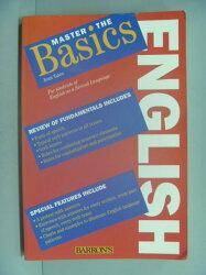 【書寶二手書T8/語言學習_YIU】Master the Basics English_Yates, Jean