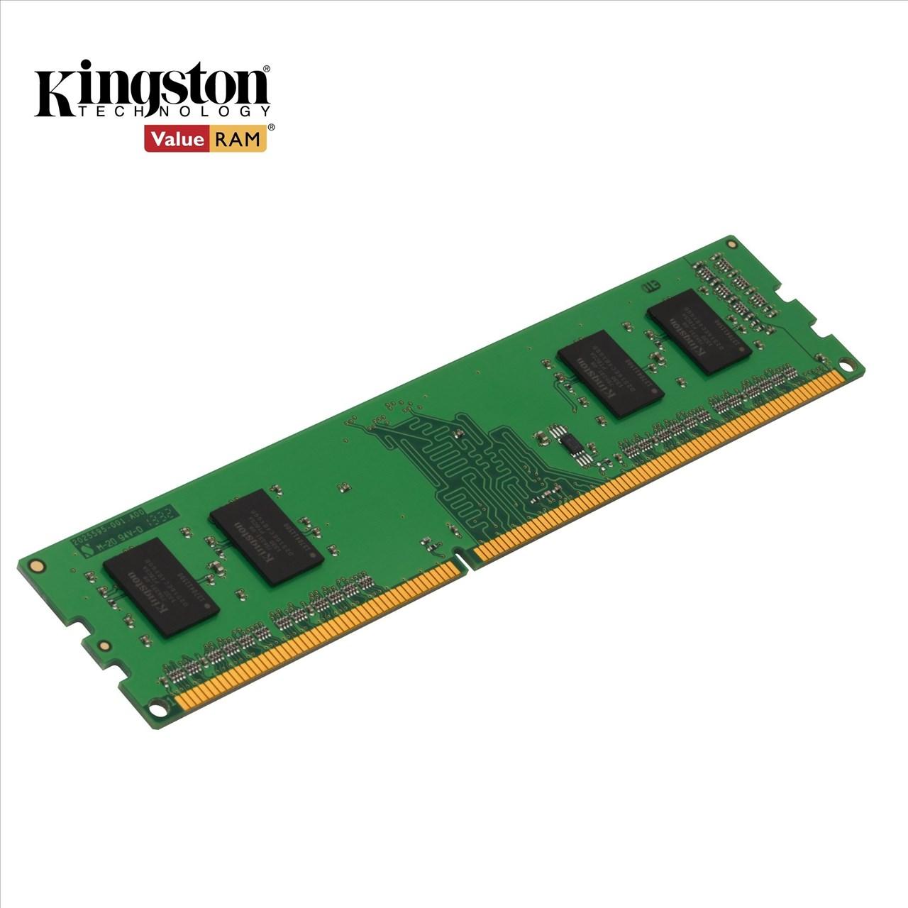 【新風尚潮流】金士頓桌上型記憶體 2G 2GB DDR3-1600 終身保固 KVR16N11S6/2