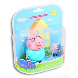 【粉紅豬小妹】PeppaPig-家庭公仔組-爸爸&喬治399元