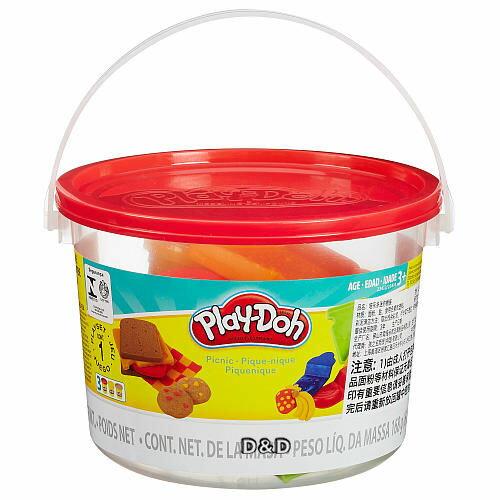 《 Play - Doh 培樂多 》 黏土迷你遊戲桶