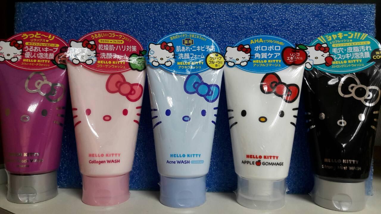 日本限定 ROSETTE HELLO KITTY 去角質凝膠 臉部專用 果酸 溫和去角質 洗面乳120g