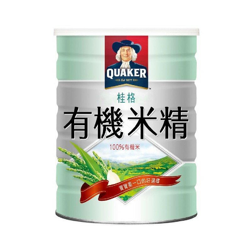 桂格 有機米精500g【甜蜜家族】