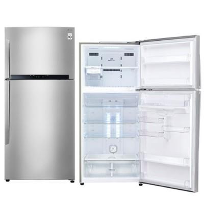 昇汶家電批發:LG 樂金 Smart 變頻上下門冰箱 精緻銀 525公升 GN-B560SV
