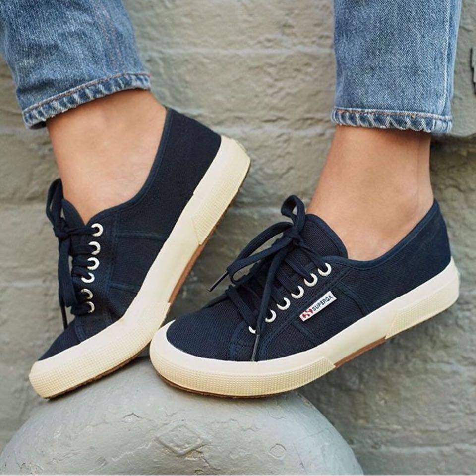 【SUPERGA】義大利國民鞋-深藍 Cotu - Classic2750 4
