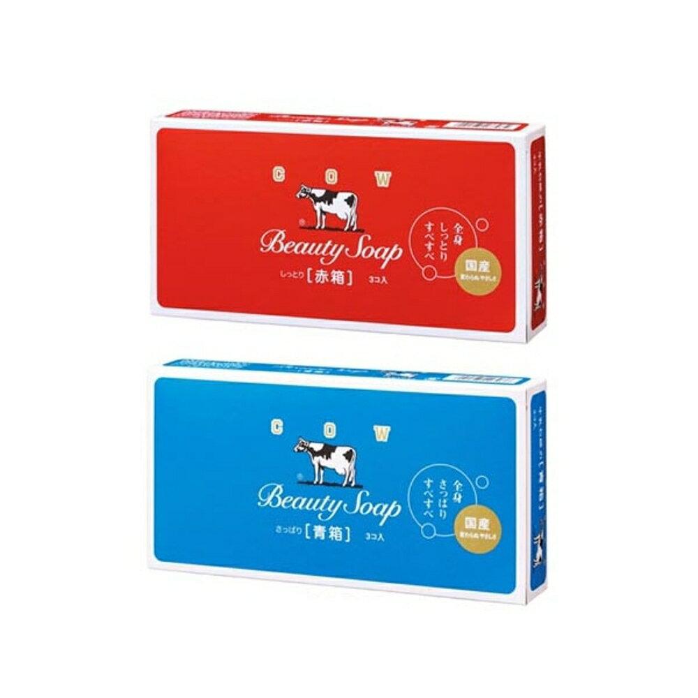 牛乳石鹼 COW 牛乳香皂(3入裝) 玫瑰保濕型/茉莉清爽型 兩款可選【小三美日】◢D137034