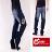 【CS衣舖 】日式風格 立體刺繡 刷白 中直筒牛仔褲 7227 - 限時優惠好康折扣