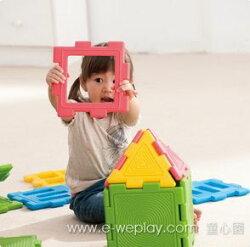 【Weplay 身體潛能館】創意互動 - 巧思積木組 - 家庭組 6800KC3002-028