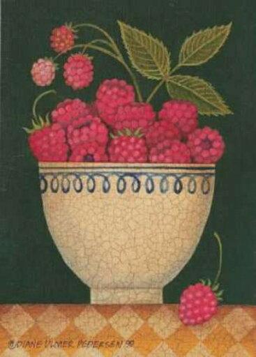 Cup O Raspberries Poster Print by Diane Pedersen (10 x 14) 1a3fcd8b305faa1707c2f6e9083dfc85