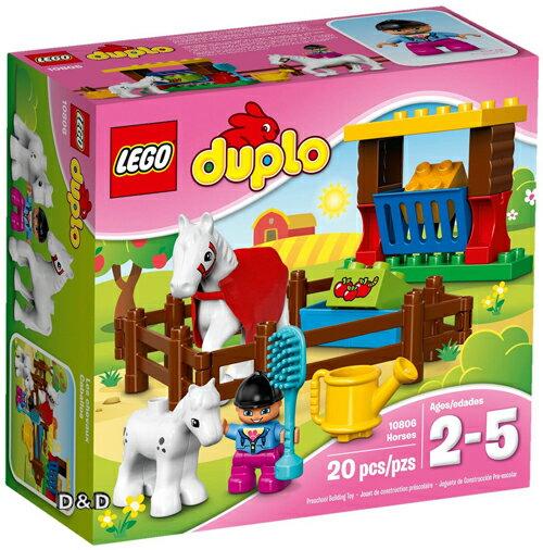 樂高積木 LEGO《 LT10806 》2016 年 Duplo 幼兒系列 - 馬