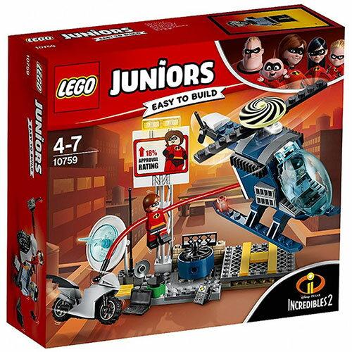 樂高LEGO 10759  Junior 初學級系列 - 超人特攻隊2 Elastigirl s Rooftop Pursuit - 限時優惠好康折扣