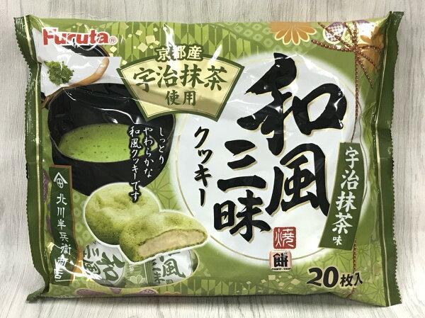 古田和風三昧宇治抹茶餅200g包