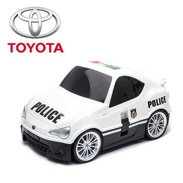 Nicegoods 生活好東西:【nicegoods】原廠跑車兒童行李箱-白色Toyota86(RIDAZ行李箱兒童登機箱)