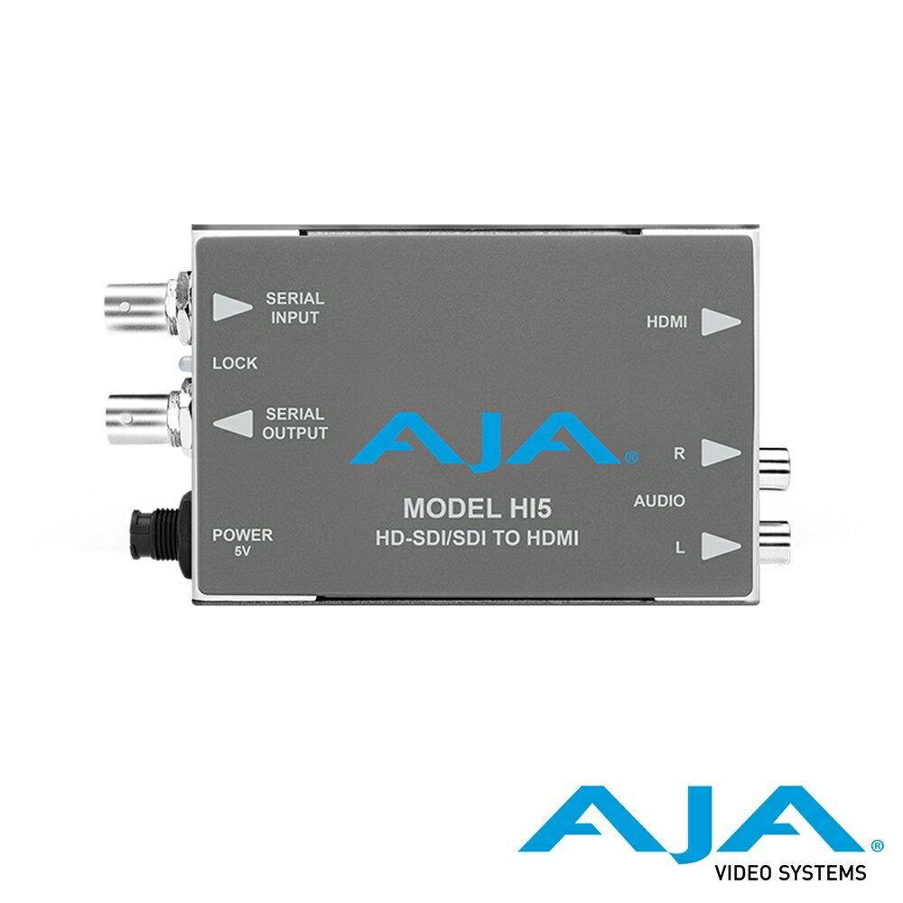 ..  AJA Hi5 HD-SDI/SDI 對 HDMI Video / Audio 迷你轉換器 公司貨
