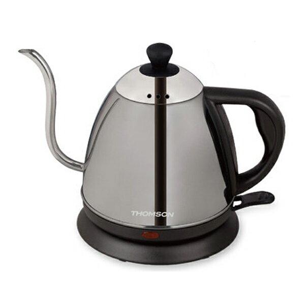 【THOMSON湯姆笙】掛耳式咖啡快煮壺 SA-K02-S (銀色)