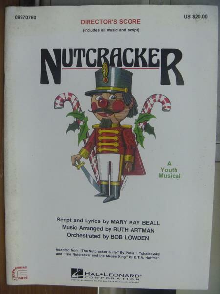 【書寶二手書T7/原文小說_QLJ】Nutcracker_封面白底有隻胡桃鉗娃娃