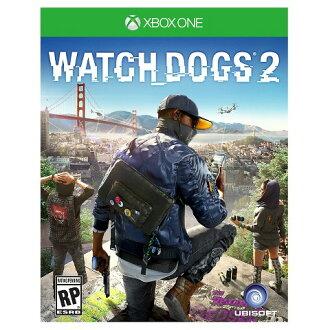 預購中 11月15日發售 中文版 含特典街頭駭客隨身包 [限制級] XBOX ONE 看門狗 2