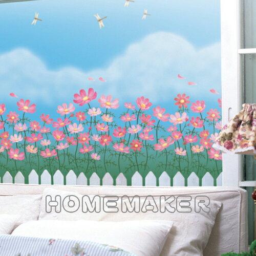 韓國彩繪自黏窗貼_HN~GS18B