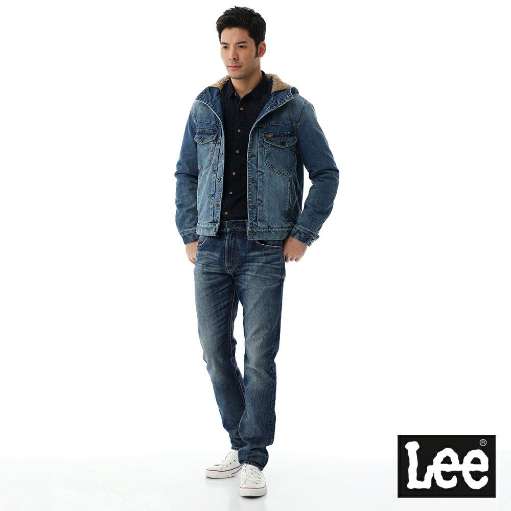 Lee 連帽牛仔外套 / 101+-男款-藍色 2