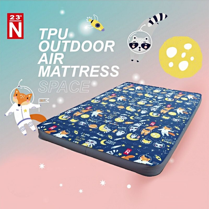 【露營趣】新店桃園 台灣製 北緯23度 TPU-4 雙人床墊太空版 露營 睡墊 床墊 充氣墊 充氣床
