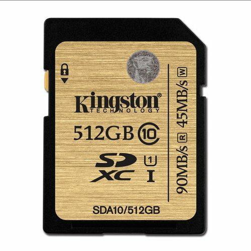 【新風尚潮流】金士頓記憶卡 512G 512GB SDXC C10 UHS-I U1 SDA10/512GB