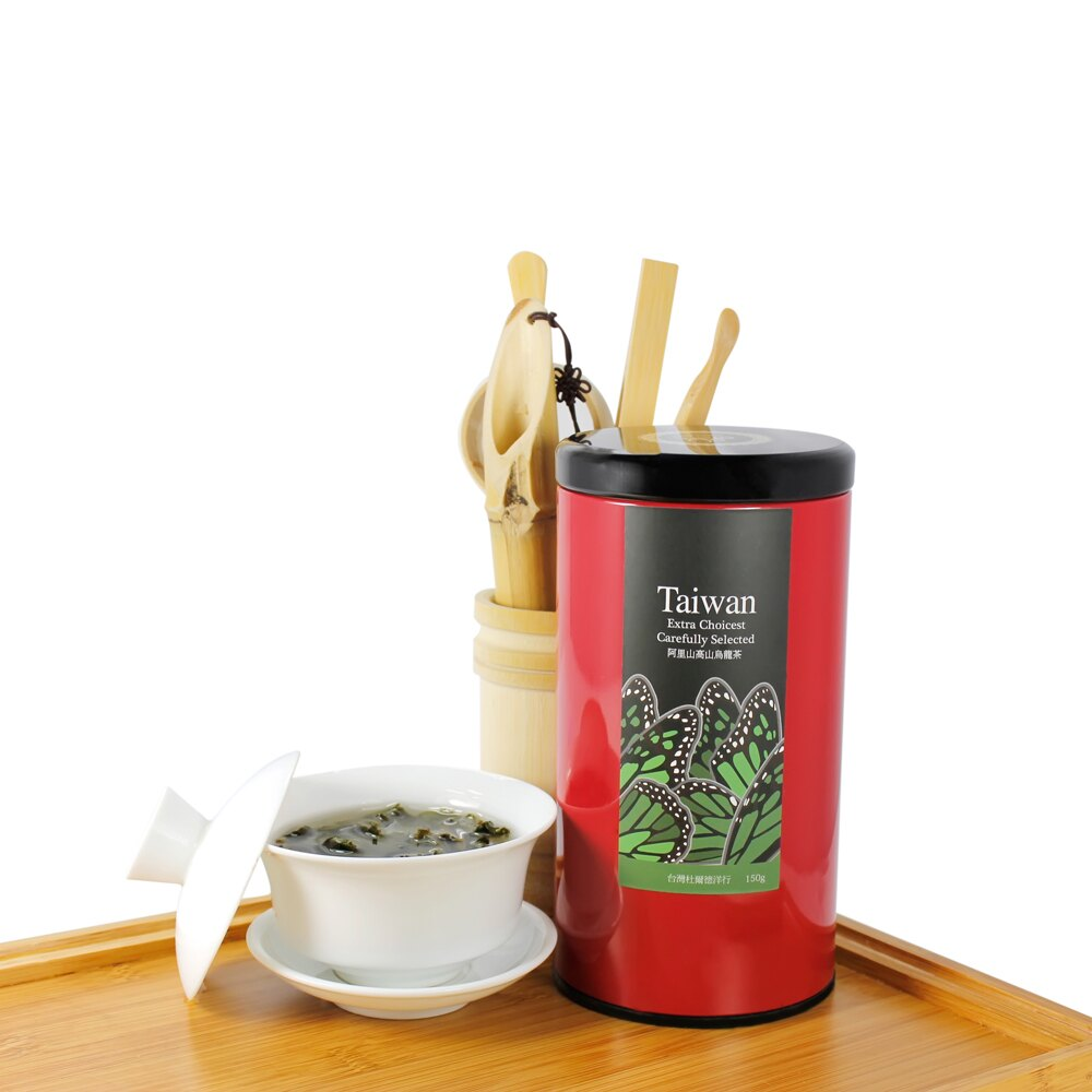 【杜爾德洋行 Dodd Tea】精選阿里山高山烏龍茶150g 4