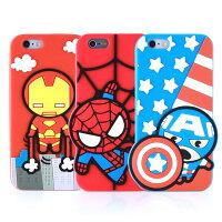漫威英雄Marvel 周邊商品推薦MARVEL iPhone 6 復仇者聯盟2D立體保護套