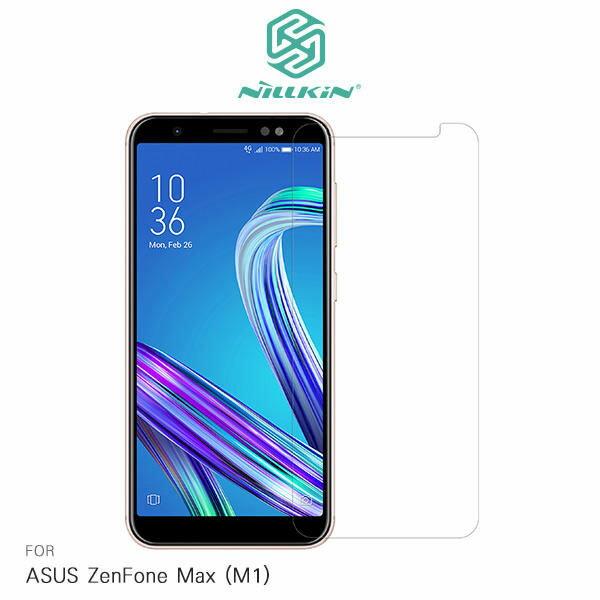 NILLKINASUSZenFoneMax(M1)ZB555KL超清防指紋保護貼-套裝版【愛瘋潮】