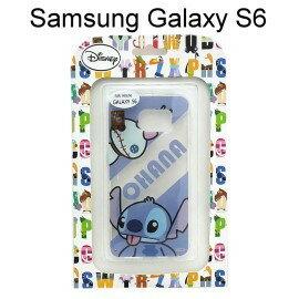 迪士尼透明軟殼 Samsung G9200 Galaxy S6 [最佳拍檔] 小金&史迪奇【Disney正版授權】