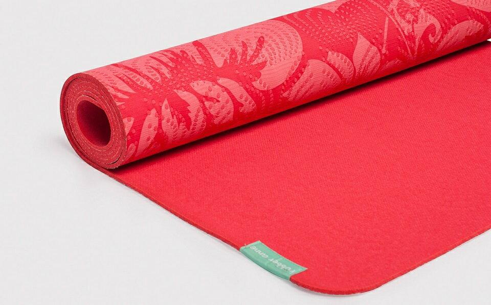 【 rubber anne 】天然橡膠瑜珈墊 - 花季 4mm