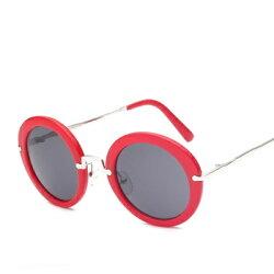 ★太陽眼鏡偏光墨鏡-時尚創意圓框設計男女眼鏡配件12色73en36【獨家進口】【米蘭精品】