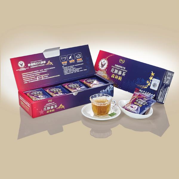 田敬總舖:(85折)美國威斯康辛州花旗蔘茶包(森林級)X2盒