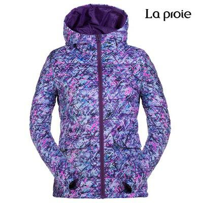 La proie 女式超輕印花羽絨服(兩色) 0