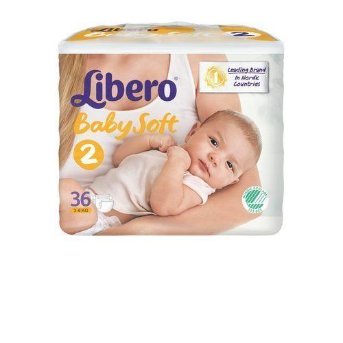 『121婦嬰用品館』麗貝樂 Libero 嬰兒紙尿褲(尿布)S 2號-36片x6包/箱