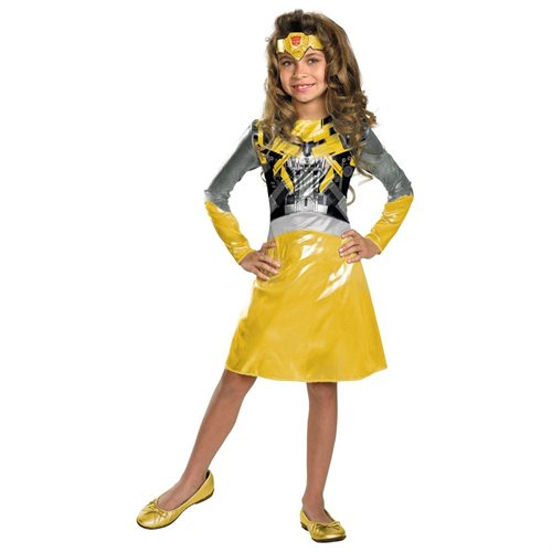 Transformers 3 Dark of the Moon Movie - Bumblebee Girl Toddler / Child Costume 9784c4aa421a14ffb2b195ce65c84c77