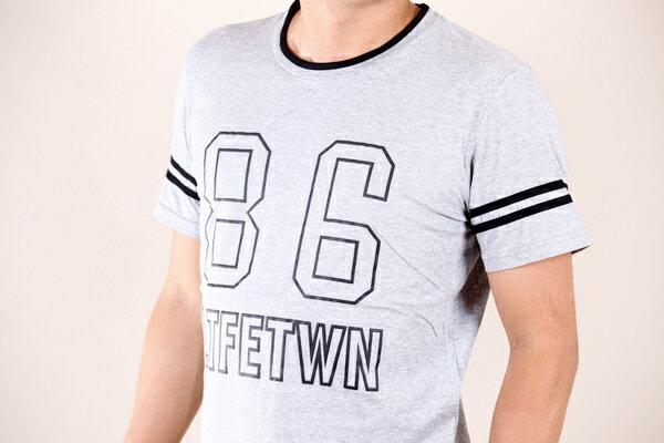 【CS衣舖 】韓系 合身版 萊卡彈力 短袖T恤 3104 2