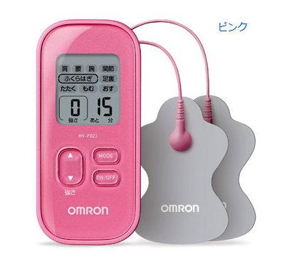 OMRON歐姆龍低週波治療器HV-F021(粉色) (附專用貼片)HVF-021