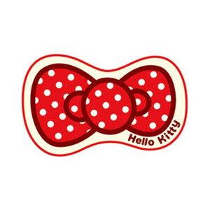 La maison生活小舖《Hello Kitty蝴蝶結地墊腳踏墊》簡單有可愛的圖案 吸水防滑 觸感柔軟地墊/軟墊/腳踏墊/止滑墊/吸水墊/軟毛墊