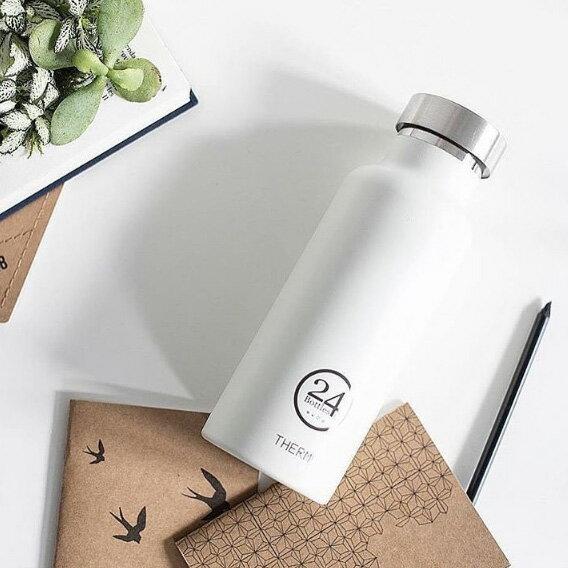 orin 原品設計:《24Bottles》保溫水瓶白色500ml