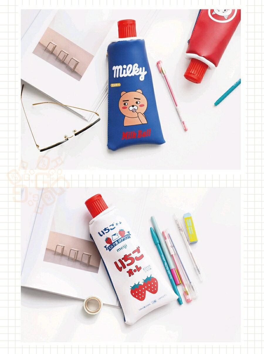 ORG《SG0227》限量款!附削鉛筆機 仿真 牙膏造型 鉛筆袋 收納袋 置物袋 鉛筆盒 筆袋 文具用品 交換禮物 創意 4