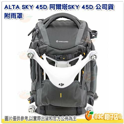 精嘉 VANGUARD ALTA SKY 45D 阿爾塔 SKY 45D 公司貨 附雨罩 雙肩後背包 空拍機 包 13吋筆電 快取